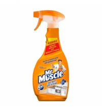 Чистящее средство для кухни Мистер Мускул 450мл, энергия цитруса, спрей