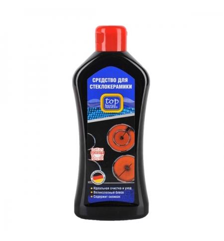 фото: Чистящее средство для стеклокерамики Top House 300мл, с силиконом