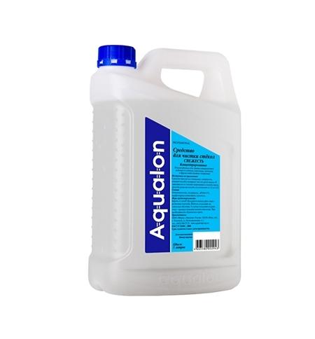 фото: Чистящее средство для стекол Aqualon 5л, свежесть, жидкость