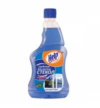 Чистящее средство для стекол Help 500мл, запасной блок