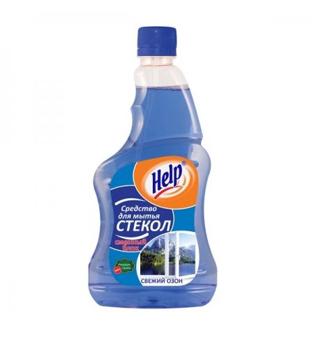 фото: Чистящее средство для стекол Help 500мл, запасной блок