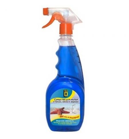 фото: Чистящее средство для стекол Phoenix Big D 750мл, морская свежесть, спрей