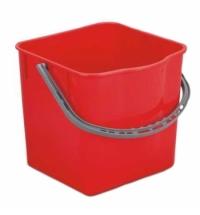 Ведро Uctem-Plas 25л, пластик, красное, SK797