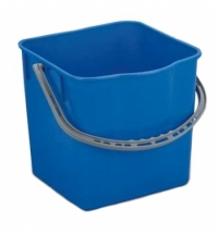 Ведро Uctem-Plas 25л, пластик, синее, SK797