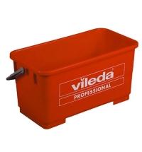 Ведро Vileda Professional Эволюшн 22л, для мытья окон, красное, 500118