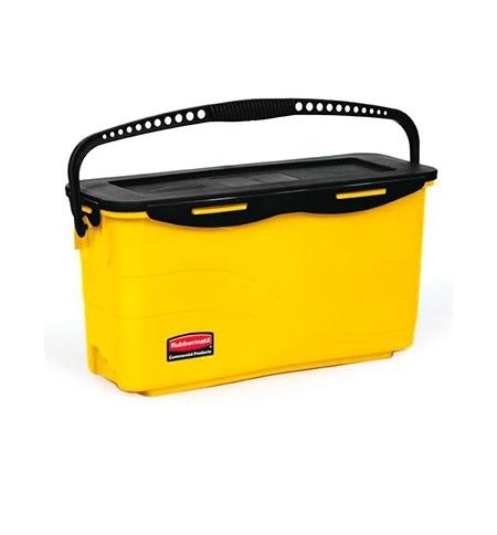 фото: Ведро для подготовки мопов Rubbermaid Hygen желтое, FGQ95088YEL