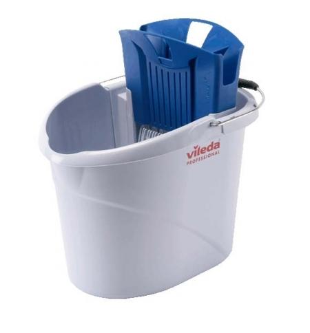 фото: Ведро с отжимом Vileda Professional УльтраСпид Мини, 10л, 129686, синий