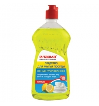 Средство для мытья посуды Лайма Professional 1кг, лимон