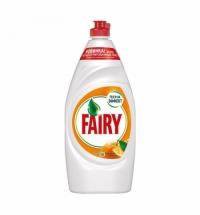 Средство для мытья посуды Fairy 900мл, лимон/апельсин и лимонник