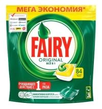 Капсулы для ПММ Fairy All in 1 Original, 84шт, лимон